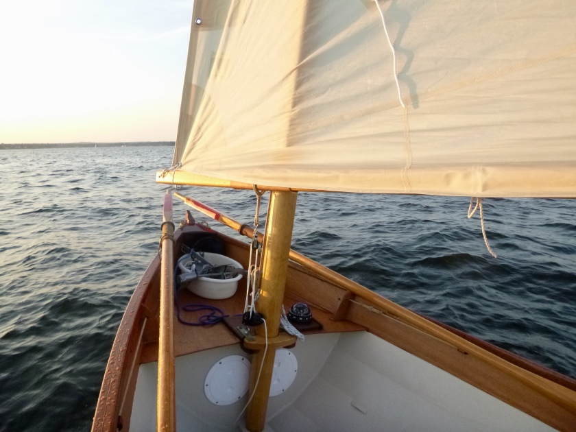 CIY sailing toward Sunset Aug2018